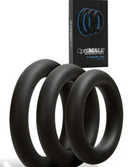 Doc Johnson Thick Cock Rings (Set of 3)