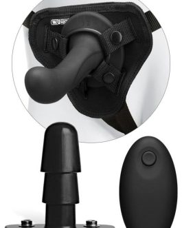 Doc Johnson Vac-U-Lock G-Spot 6.5″ Silicone Dildo Vibrating Set