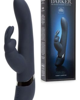 Fifty Shades Darker 10″ Oh My Rechargeable Rabbit Vibrator