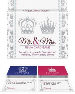 Kheper Games Mr & Mrs Trivia Card Game