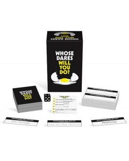 Kheper Games Whose Dares Will You Do? Adult Board Game