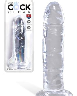 Pipedream King Cock 6″ Dildo With Suction Base