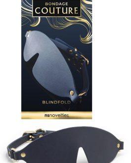 nsnovelties Bondage Couture Vegan Leather Blindfold