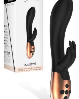 Shots Toys 8″ Silicone Rabbit Vibrator with Heating